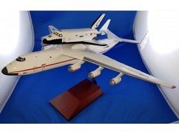 An-225 Mriya & Buran CCCP-82060 (inflight)
