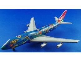 """Boeing 747-400 Qantas """"Wunala Dreaming"""" VH-EBU"""