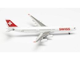"""A340-300 Swiss """"Chur"""" HB-IMH"""