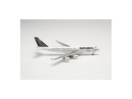 """Boeing 747-400 Iron Maiden """"Ed Force One"""" TF-AAK (Herpa)"""