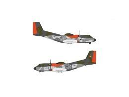 """C-160 Transall Luftwaffe LTG-63 """"Retro Brummel"""" 50+40"""