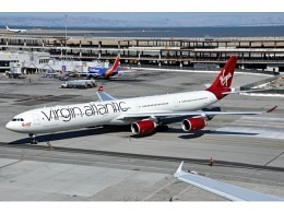 A340-600 Virgin Atlantic G-VRED