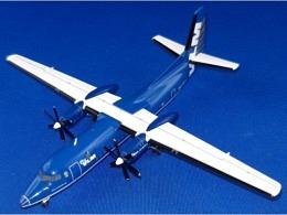 Fokker 50 VLM Airlines OO-VLS